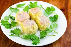 Fresh Shumai Dim Sum Royalty Free Stock Photos
