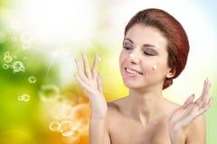 Fresh Skin Face Stock Photos