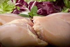 Fresh skinless chicken Royalty Free Stock Image