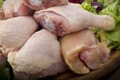 Fresh skinless chicken Stock Photo