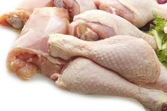 Fresh skinless chicken Royalty Free Stock Photography