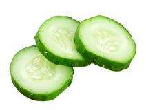 Fresh slice cucumber Royalty Free Stock Photos