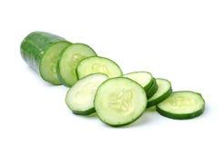 Fresh slice cucumber Royalty Free Stock Images