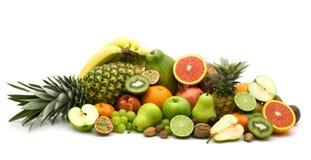 Fresh slice fruits Stock Photo