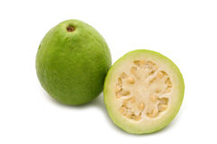 Fresh slice guava Stock Photo