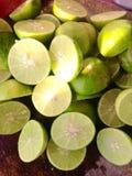 Fresh of slice lemon Stock Photo