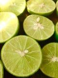 Fresh of slice lemon Stock Photos