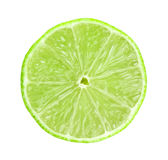 Fresh slice lime Stock Photo