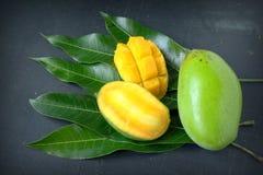 Fresh slice mango Royalty Free Stock Image