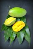 Fresh slice mango Royalty Free Stock Photography
