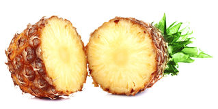 Fresh slice pineapple Stock Images
