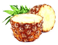 Fresh slice pineapple Royalty Free Stock Photography