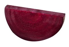 Fresh slice red beet root Stock Photo