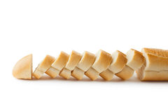 Fresh sliced baguette Royalty Free Stock Photography