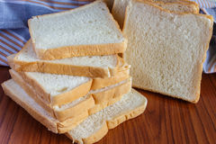 Fresh sliced bread. One sliced Royalty Free Stock Photo
