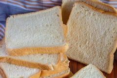 Fresh sliced bread. One sliced Stock Photo