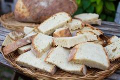 Fresh sliced bread Royalty Free Stock Photography