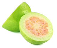 Fresh sliced guava Royalty Free Stock Photo