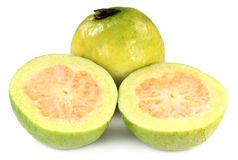 Fresh sliced guava Stock Photography