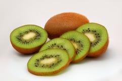 Fresh sliced kiwi. Isolated image of fresh sliced kiwi Stock Images