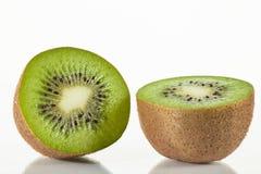 Fresh sliced kiwi fruit Stock Photos