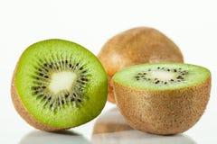 Fresh sliced kiwi fruits Stock Image
