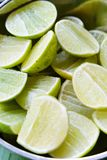 Fresh sliced Lemon background Royalty Free Stock Images