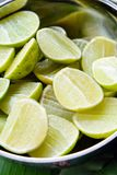 Fresh sliced Lemon background Stock Photography