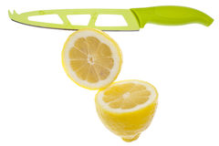 Fresh Sliced Lemons Royalty Free Stock Image