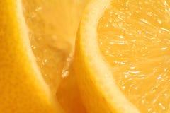 Fresh sliced lemons Stock Photo