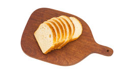 Fresh sliced loaf of bread Royalty Free Stock Image