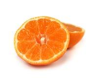 Fresh, sliced orange isolated Stock Photo