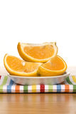 Fresh sliced oranges Royalty Free Stock Photography