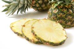 Fresh sliced pineapple Stock Image