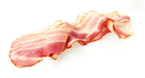 Fresh Sliced Pork Bacon Royalty Free Stock Images
