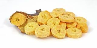 Fresh Sliced Ripe Plantain Banana Royalty Free Stock Photography