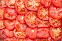 Fresh sliced tomato Royalty Free Stock Images