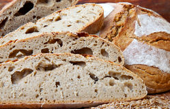 Fresh slices bread Stock Photography
