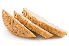 Fresh slices of bread with seeds of sunflower Stock Photography