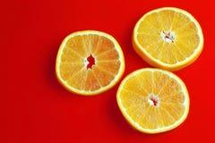Fresh slices of orange Stock Image