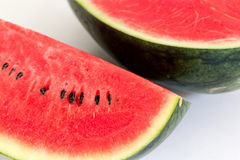 Fresh slices of ripe  sweet watermelon Stock Photography