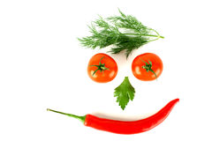 Fresh smile Stock Image