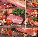 Fresh smoked meat Stock Photography