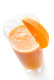 Fresh smoothie from carrot Stock Images