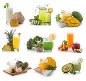 Fresh Smoothie compilation Stock Photo