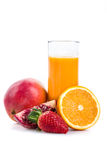 Fresh smoothie drink Royalty Free Stock Photos