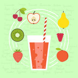 Fresh Smoothie Royalty Free Stock Images