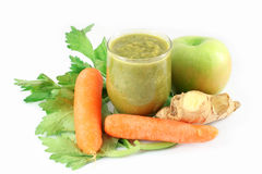 Fresh Smoothie for slimming Royalty Free Stock Images