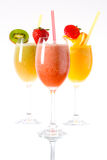 Fresh smoothies Stock Photos
