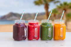 Fresh smoothy drink Stock Photos
